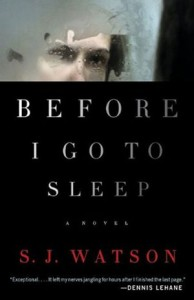 Before I Go to Sleep by S.J. Watson | Book Review