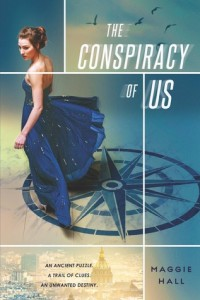 The Conspiracy of Us by Maggie Hall | 2015 Debut Book Review