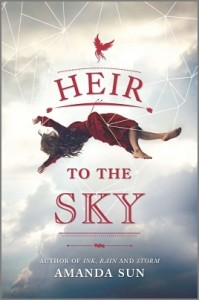 Heir to the Sky by Amanda Sun | Blog Tour Mini Book Review (+ Giveaway)
