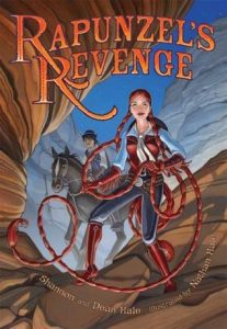 Rapunzel's Revenge by Shannon Hale | Graphic Novel Review