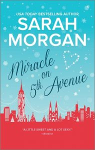 Miracle on 5th Avenue by Sarah Morgan | Book Review & Giveaway
